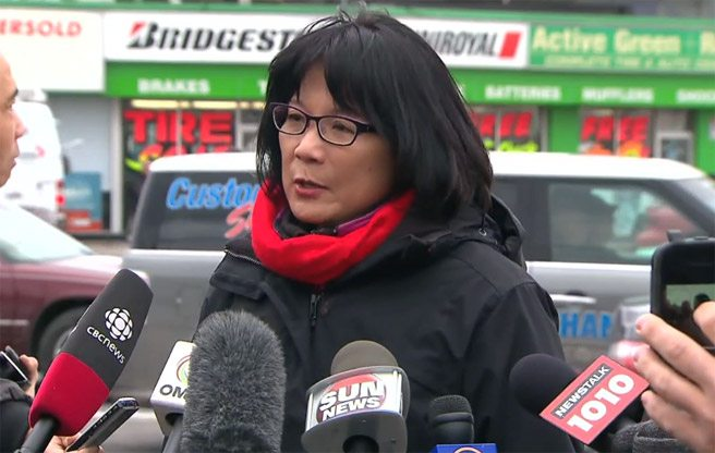 Olivia Chow calls on the province and the feds to fund Toronto's Downtown Relief Line