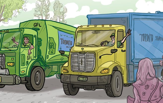 Pickup Artists: outsourcing half the garbage collection was brilliant—privatizing the rest would be disastrous