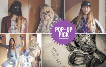 Pop-Up Pick: Walk-in Closet, the retail equivalent of raiding your best friend's wardrobe