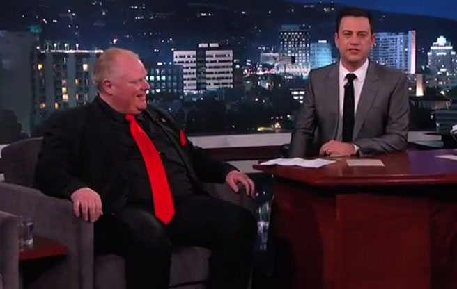 An open letter to Jimmy Kimmel regarding his time with Rob Ford