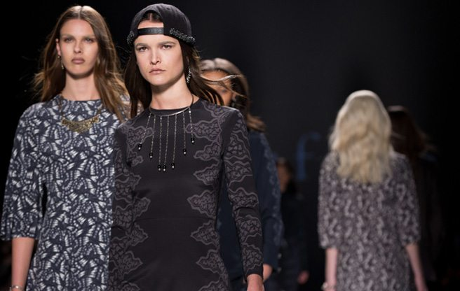 Toronto Fashion Week: Beaufille presents hypnotic prints and backwards baseball caps for Fall 2014