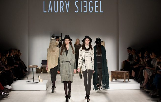 Toronto Fashion Week: slouchy knits and tie-dye dresses at Laura Siegel Fall 2014