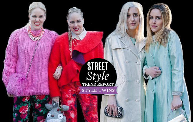Street Style Trend Report: Style Twins