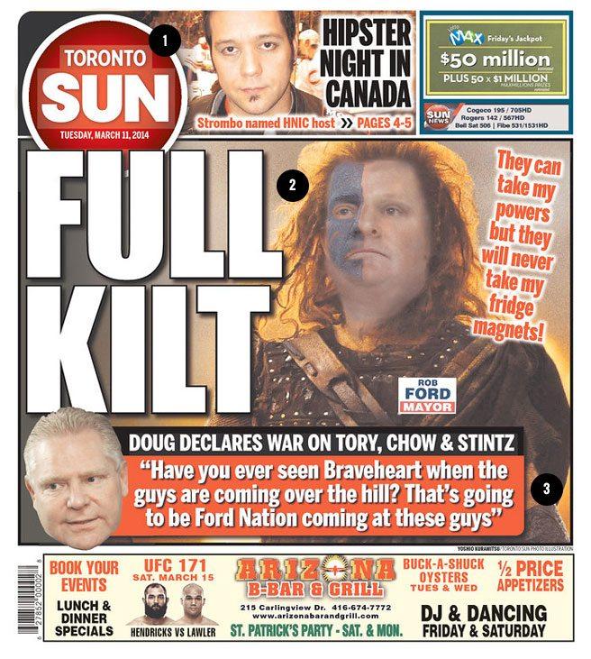 PHOTO: anatomy of an amazing <em>Toronto Sun</em> cover