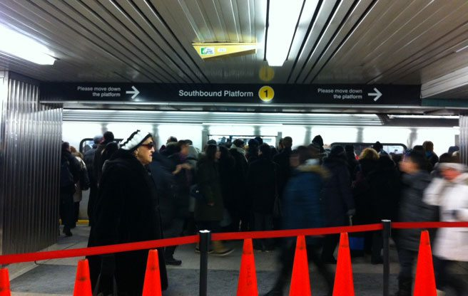 Yonge-Bloor station gets new, number-based signage