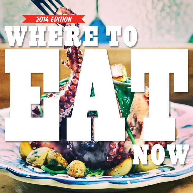 Where to Eat Now 2014