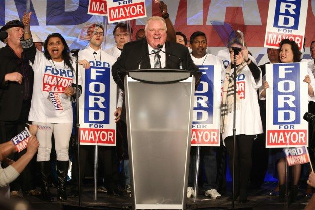 Rob Ford's campaign launch