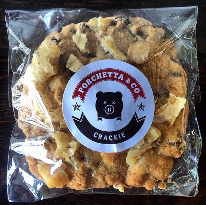 Meet the Crackie, a cross between a chocolate-chip cookie and a sack of pork rinds