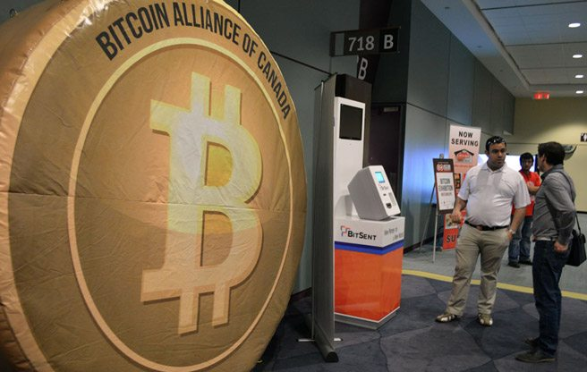 Black cubes, cryptographic puzzles and dizzying jargon: a day at Toronto's first Bitcoin expo