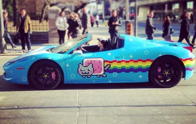 "UPDATED: Deadmau5 is planning on selling his ""Purrari"""