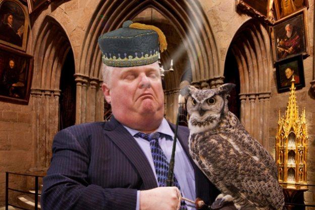 Rob Ford holding an owl Photoshop battle lights up Reddit