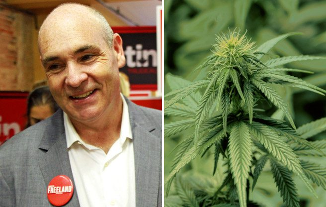 One-time mayoral candidate George Smitherman is getting into the medical-marijuana biz