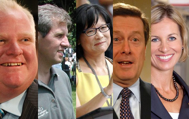 Semi-important question: what do 2014's mayoral candidates like to drink?