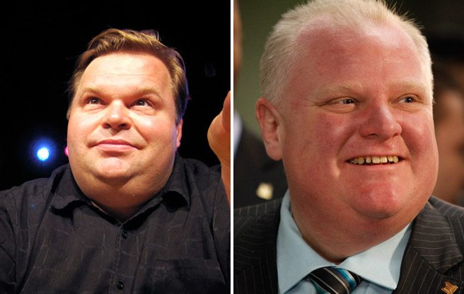 Famed <em>Agony and Ecstasy of Steve Jobs</em> monologuist Mike Daisey's next project? Rob Ford