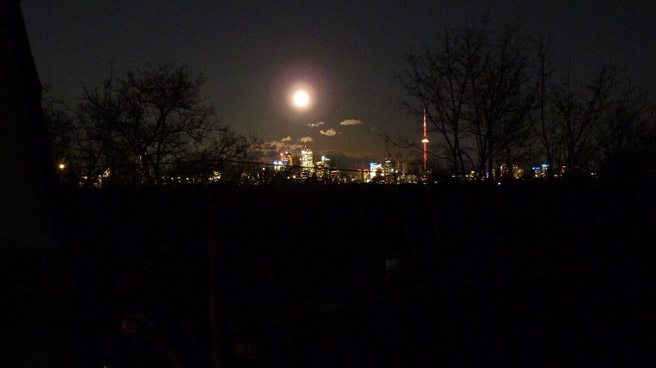 PHOTO: last night's power outage