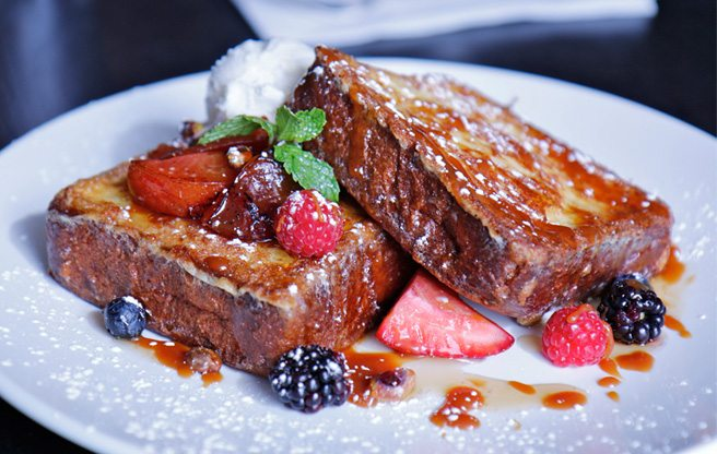 Introducing: Tavern by Trevor, a new spot for brunch and bar snacks (deep-fried foie gras!)