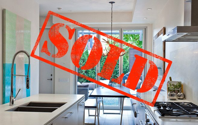 Sold: a designer townhouse near Kensington Market for $1 million