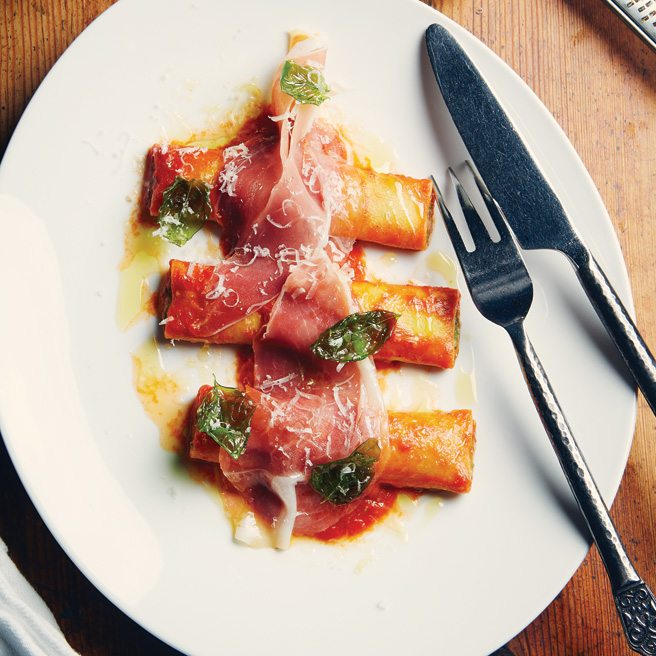 Recipe: how to make Buca chef Rob Gentile's buffalo ricotta-stuffed cannelloni