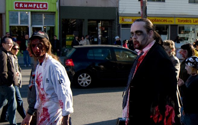 Scientific proof that Toronto would be screwed in the event of a zombie apocalypse