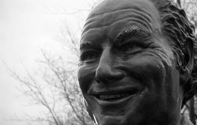 QUOTED: a comic-store clerk, on Kensington's Al Waxman statue being painted to look like the Joker