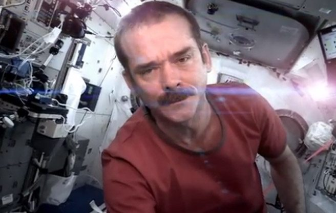 """Today is your last chance to watch Chris Hadfield's """"Space Oddity"""" video on YouTube"""