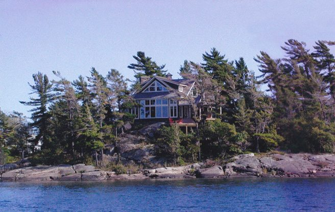 Cottage of the Week: a $1.5-million Georgian Bay getaway on a private island