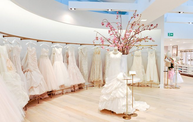 Store Guide: Kleinfeld, the massive <em>Say Yes to the Dress</em> bridal boutique at the Bay