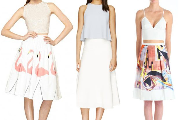 The Find: Midi Skirts