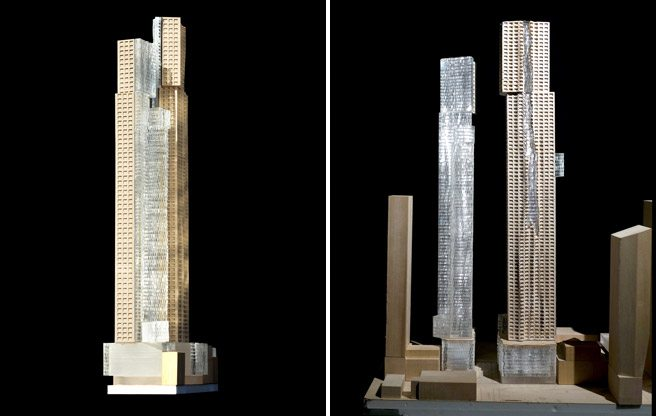 Frank Gehry's skyscrapers will probably be built on King Street after all, but in slimmed-down form