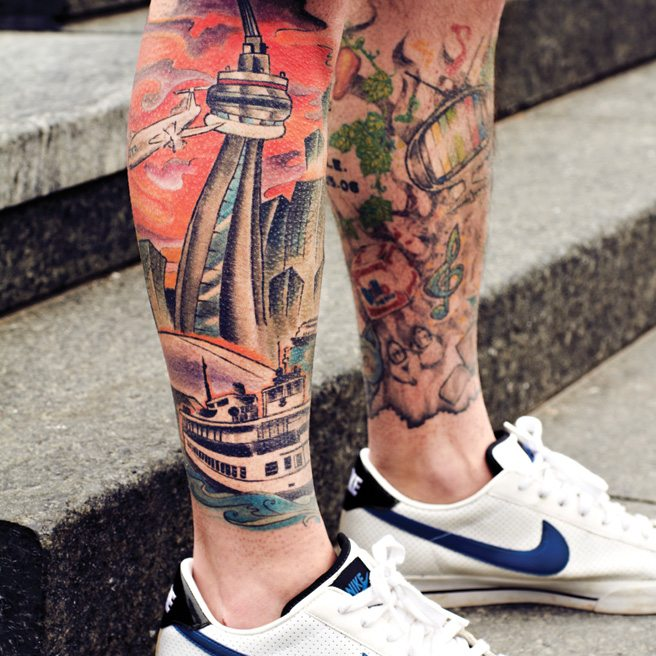 Reasons to Love Toronto 2014: #2. Because We Tattoo Our Toronto-Love
