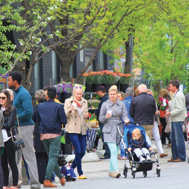 Reasons to Love Toronto 2014: #25. Because Queen West is Blooming