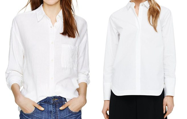 The Find: nine fresh takes on the classic white button-down