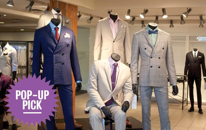 Pop-Up Pick: at Indochino's temporary tailor, you can custom-design a dream suit—for under $500