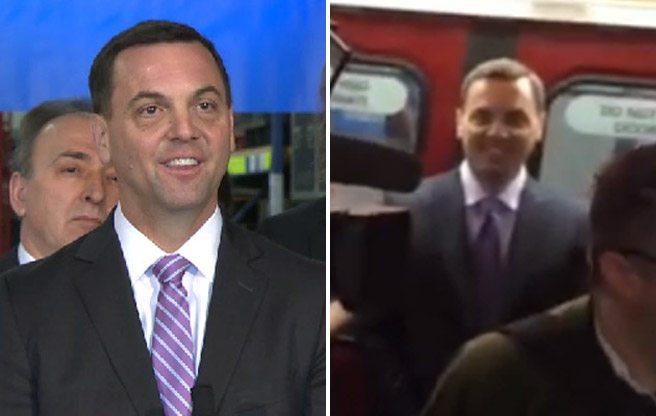 Spot the difference: Tim Hudak's PR-disaster face