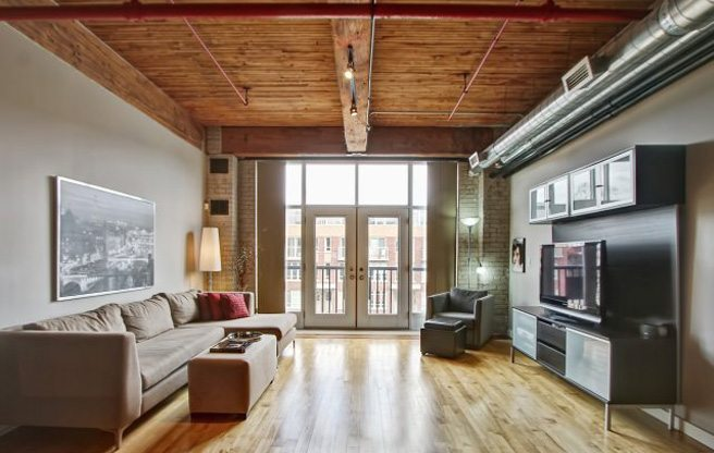 Condo of the Week: $430,000 to live in a former glue factory in the Junction Triangle
