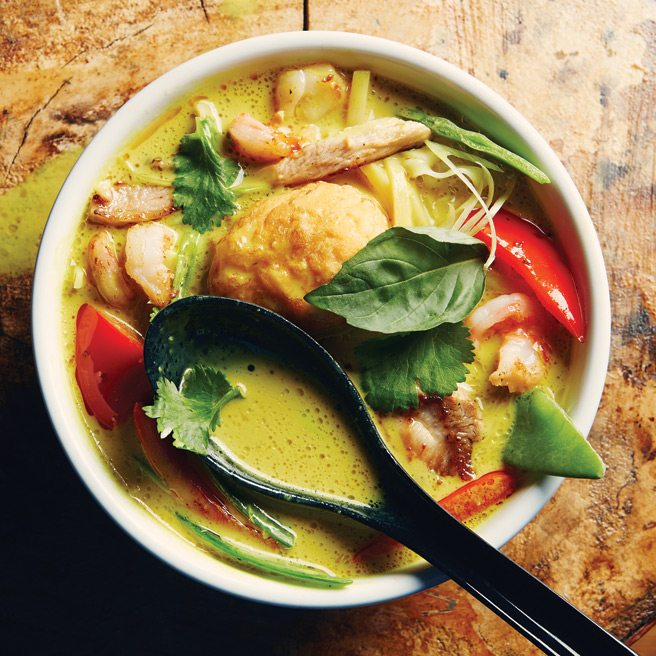 Recipe: how to make the creamy, chili-spiked laksa soup from Hawker Bar on Ossington