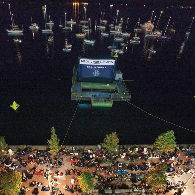 Where to watch movies outdoors this summer