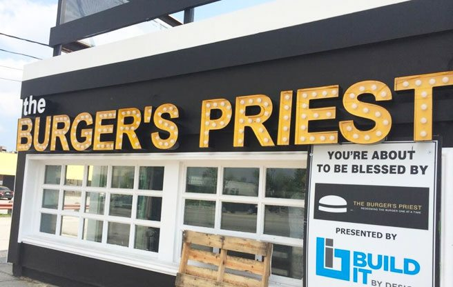 The Burger's Priest is set to open two more locations