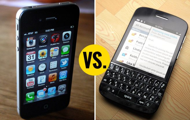 BlackBerry is still more popular than Apple—at least, in Toronto