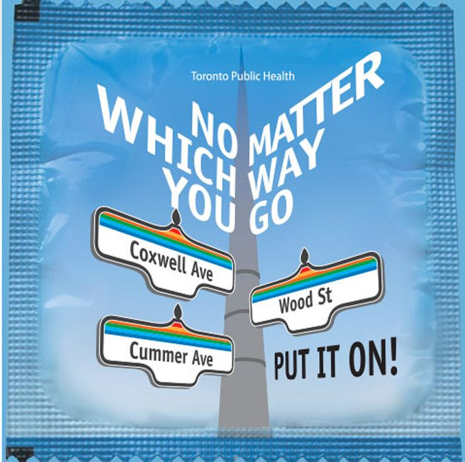 Sad condom news: Toronto's city-branded prophylactics won't be handed out at Pride events