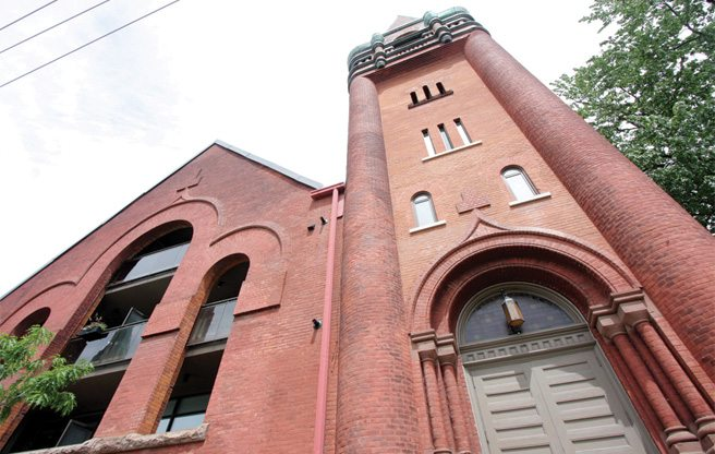 Condo of the Week: $750,000 to live in a former church in the Junction