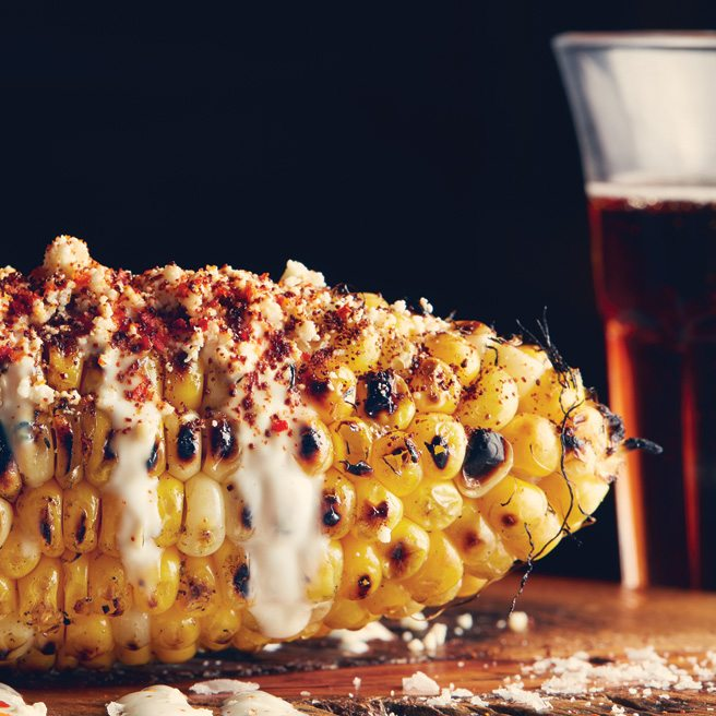 Recipe: how to make La Carnita's buttery, queso-topped Mexican corn