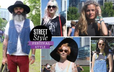 Street Style: Toronto festival-goers show off bold prints, big hats and free-flowing fabric