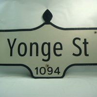 Someone paid way too much for an old Toronto street sign