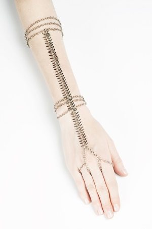 The Find: an elegant arm chain made locally from upcycled materials