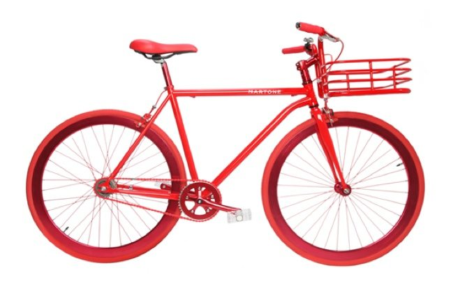 The Find: colourful Martone bikes are now for sale at The Room