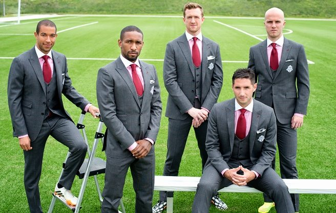 PHOTO: Toronto FC's star players model the team's flashy new suits