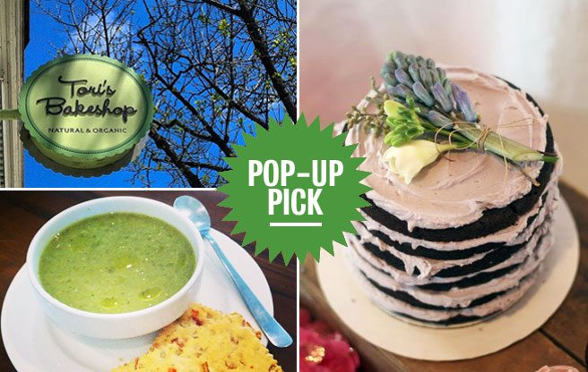 Pop-Up Pick: Tori's Bakeshop in the Beach hosts a surprisingly decadent vegan dinner party