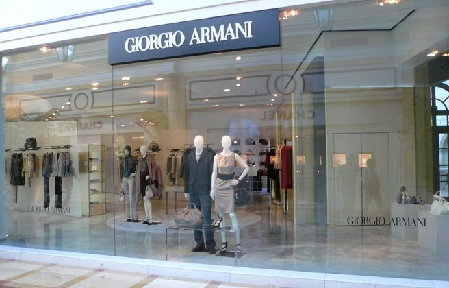 Giorgio Armani's first Canadian outlet store is opening in Toronto