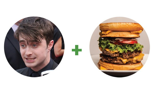 Daniel Radcliffe really likes The Burger's Priest